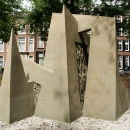 """Guernica revisited"", The Hague (Netherlands), 2018, 3 x 3 x 2,4m"